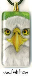 Bald Eagle Portrait Pendant