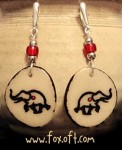Elephant Totem Earrings