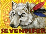 Sevenpifer Wolf Badge