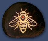 Bee (Carved)