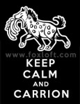 Keep Calm and Carrion - Hyena