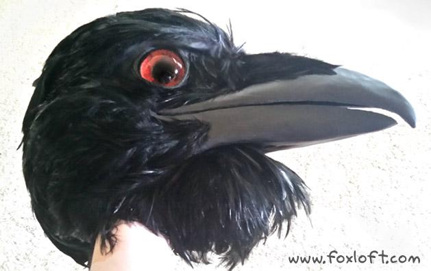 Raven Mask | The Foxloft
