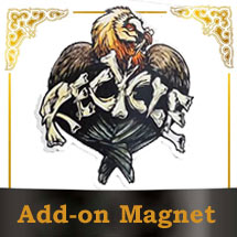 Add on Magnet Recycle Vulture