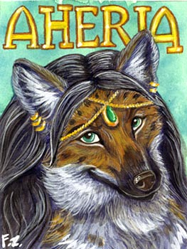 Aheria Badge