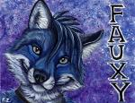 Blue Fox Badge