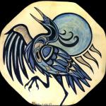 """Heron Dance"" Drum"