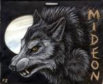 Werewolf Badge