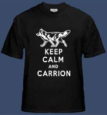 Keep Calm and Carrion - Coyote